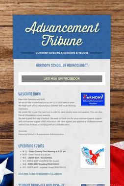 Advancement Tribune