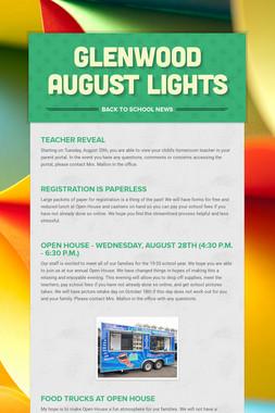 Glenwood August Lights