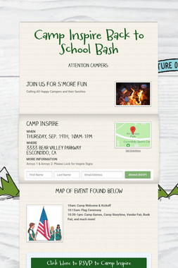 Camp Inspire Back to School Bash