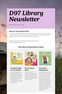 D97 Library Newsletter