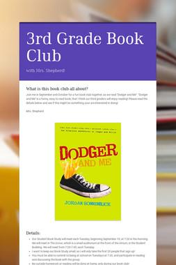 3rd Grade Book Club