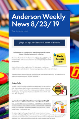 Anderson Weekly News 8/23/19