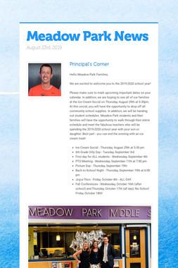 Meadow Park News