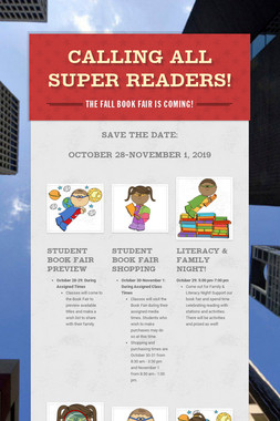 Calling All Super Readers!