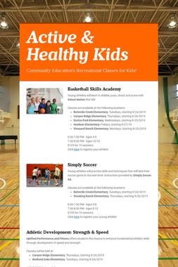Active & Healthy Kids