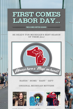 First comes Labor Day...