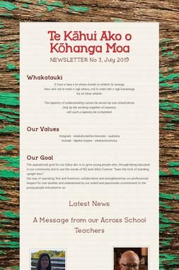 Te Kāhui Ako o Kōhanga Moa