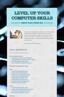 Level Up Your Computer Skills