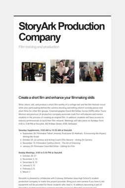 StoryArk Production Company