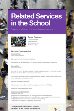 Related Services in the School