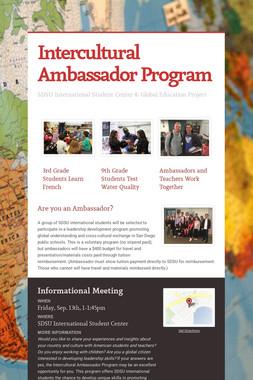 Intercultural Ambassador Program