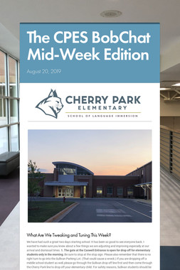 The CPES BobChat Mid-Week Edition