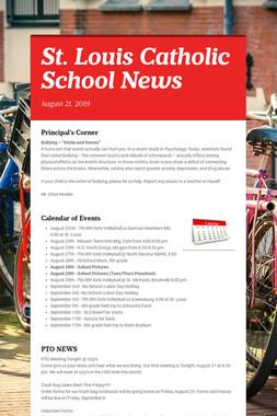 St. Louis Catholic School News