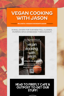 Vegan Cooking with Jason
