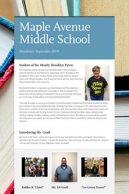 Maple Avenue Middle School