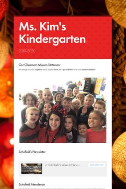 Ms. Kim's Kindergarten