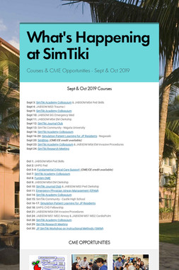 What's Happening at SimTiki