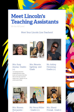 Meet Lincoln's Teaching Assistants