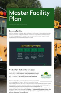 Master Facility Plan
