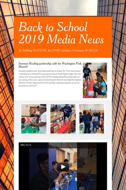Back to School 2019 Media News
