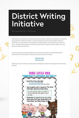 District Writing Initiative