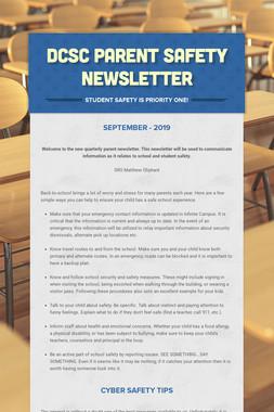 DCSC Parent Safety Newsletter