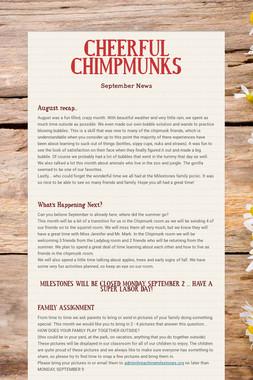 CHEERFUL CHIMPMUNKS