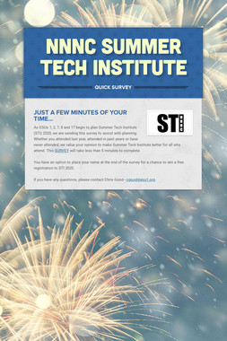 NNNC Summer Tech Institute