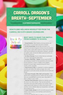 Carroll Dragon's Breath~September