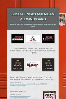 SDSU African American Alumni Board