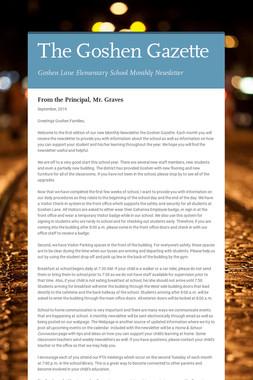 The Goshen Gazette