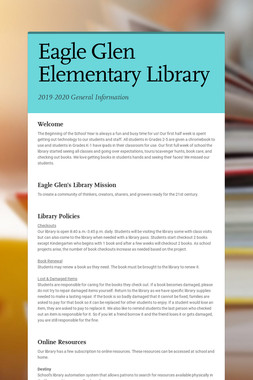 Eagle Glen Elementary Library