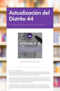 Actualización del Distrito 44