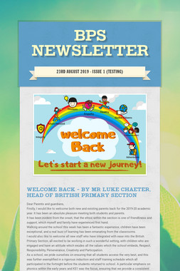 BPS Newsletter