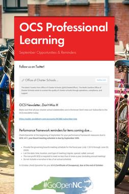 OCS Professional Learning