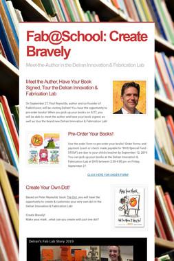 Fab@School: Create Bravely