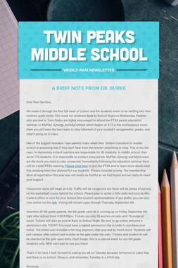 Twin Peaks Middle School