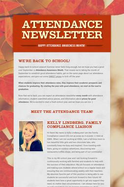 Attendance Newsletter