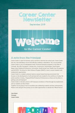 Career Center Newsletter