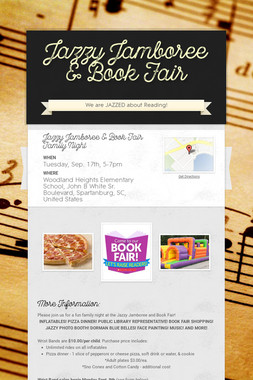 Jazzy Jamboree & Book Fair