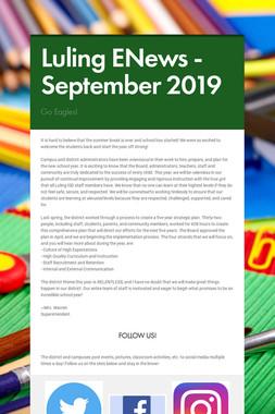 Luling ENews - September 2019