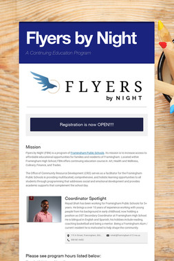 Flyers by Night