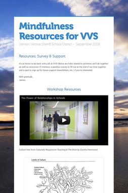 Mindfulness Resources for VVS