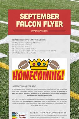 September Falcon Flyer