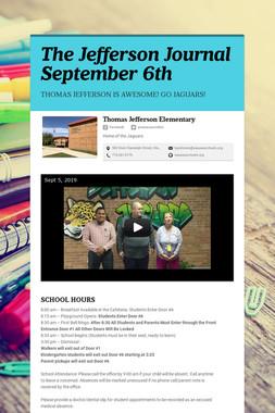 The Jefferson Journal September 6th