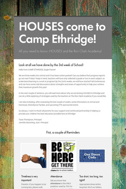 HOUSES come to Camp Ethridge!