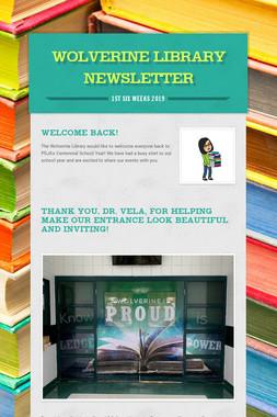 Wolverine Library Newsletter