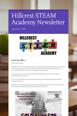 Hillcrest STEAM Academy Newsletter