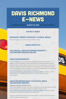 Davis Richmond E-News