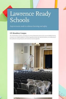 Lawrence   Ready Schools